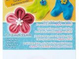 Kanzashi Flower Templates Clover Kanzashi Flower Maker Craft Template Select Your