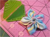 Kanzashi Flower Templates Review Clover Kanzashi Flower Makers Pointed Petal for