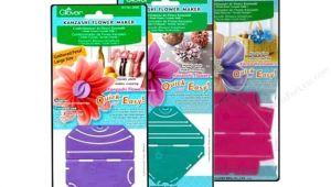 Kanzashi Templates Clover Kanzashi Flower Maker Createforless