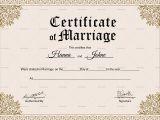 Keepsake Marriage Certificate Template Keepsake Marriage Certificate Design Template In Psd Word