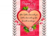 Key to My Heart Anniversary Card Cute Proposal Greeting Card Mug Hamper Red Flowers with Heart Key Ring Hampers