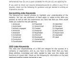 Key Words for Cover Letters Ultimate List Of 500 Resume Keywords