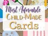 Kid Birthday Thank You Card Wording Homemade Birthday Cards for Kids to Create with Images