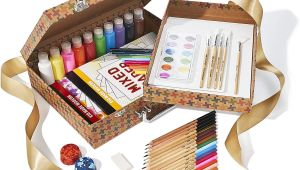 Kid Made Modern Trading Card Kit Kid Made Modern Studio In A Box Set Arts Crafts Kit for