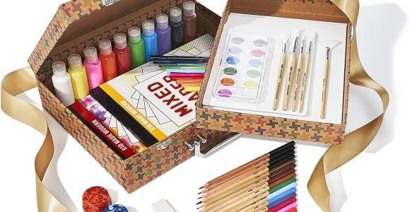 Kid Made Modern Trading Card Kit Kid Made Modern Studio In A Box Set Arts Crafts Kit for