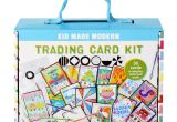 Kid Made Modern Trading Card Kit Trading Card Kit Card Kit Cards Trading Cards