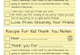 Kid Thank You Card Wording How to Write the Most thoughtful Kid Thank You Notes
