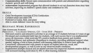 Kindergarten Teacher Resume Sample Teacher Resume Samples Writing Guide Resume Genius
