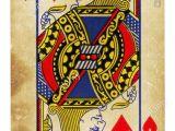 King Of Hearts Love Card Queen Of Hearts Card Vector Stock Photos Queen Of Hearts