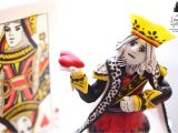 King Of Hearts Valentine Card Be My Queen Card Saint Valentine Cake King and Queen