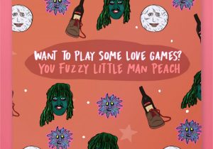 King Of Hearts Valentine Card Funny Valentine Card Noel Fielding Old Gregg the