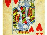 King Of Hearts Valentine Card King Of Hearts Vintage Stock Photos King Of Hearts Vintage