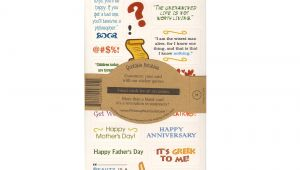 King Of Queens Anniversary Card Moses Quotable Notable Greeting Card with Sticker Quotes