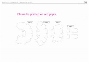Kirigami Happy Birthday Card Template Cake 3d Pop Up Cards Style3dcard Pattern 2 Kirigami