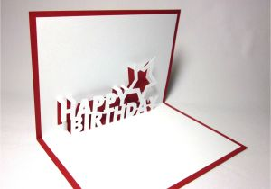 Kirigami Happy Birthday Card Template Pop Up Birthday Card Template Lilbibby Comi C A A A