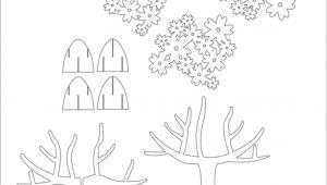 Kirigami Happy Birthday Card Template Tree 3d Pop Up Card Kirigami Pattern 1 Mit Bildern Pop