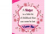 Kitchen Tea Greeting Card Messages Love Sister Greeting Card