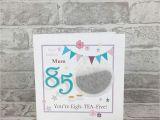 Kitchen Tea Greeting Card Messages Mum 85th Birthday Card Amazon Co Uk Handmade