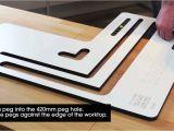 Kitchen Worktop Cutting Template Belfast Sink Recess Worktop Jig Youtube