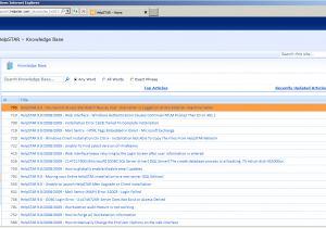 Knowledge Base Document Template Sharepoint Knowledge Base Search