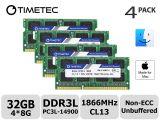Komputerbay 256gb Professional Compact Flash Card Timetec Hynix Ic 32gb Kit 4x8gb Ddr3 Pc3 14900 1866mhz Upgrade Fur Imac 17 1 32gb Kit 4x8gb