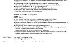Kubernetes Sample Resume Fullstack Resume Samples Velvet Jobs