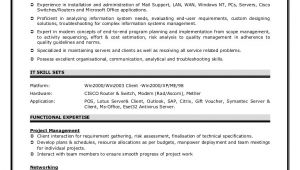 L1 Network Engineer Resume Sample Network Engineer Resume