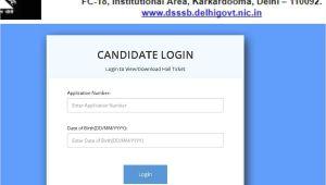 Lab assistant Admit Card Name Wise Dsssb Ldc Admit Card Dsssb Admit Card for Ldc Exam 2019