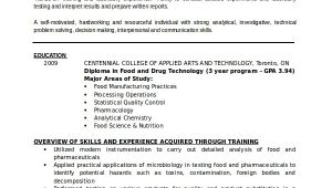 Lab Technician Resume format Word Resume for Lab Technician Resume Sample