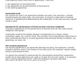 Labour Only Contract Template Sample Agreement for Labour Contract 7 Examples In Word