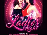 Ladies Night Out Flyer Template Free 20 Ladies Night Flyer Templates Printable Psd Ai