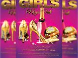 Ladies Night Out Flyer Template Free Girls Night Out Premium Flyer Template Facebook Cover