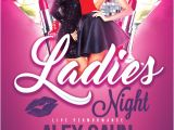 Ladies Night Out Flyer Template Free Ladies Night Flyer Template Vol 2 Download for Photoshop