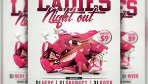 Ladies Night Out Flyer Template Free Ladies Night Out Flyer Template by Hedygraphics