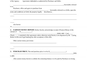 Land Contract Template Indiana Printable Home Purchase Agreement Free Printable