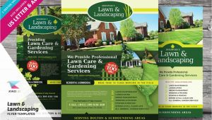 Landscaping Flyers Templates Free Lawn Landscaping Flyer Templates Flyer Templates