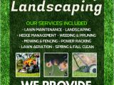 Landscaping Flyers Templates Free Lawn Service Flyer Template Postermywall