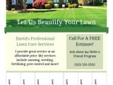 Landscaping Flyers Templates Free Printable Lawn Care Business Flyer Templates