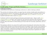Landscaping Scope Of Work Template Landscaping Architecture