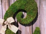 Large Moss Covered Letters Unavailable Listing On Etsy