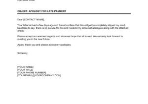 Late Payment Email Template Friendly Apology for Late Payment Template Word Pdf