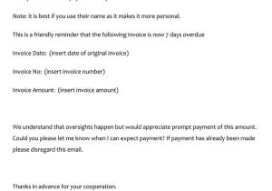 Late Payment Email Template Payment Reminder Letter format 16 Samples Examples