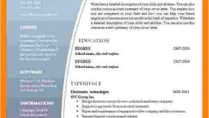 Latest Resume format Download In Ms Word 2007 9 Cv format Ms Word 2007 theorynpractice