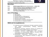 Latest Resume format In Word 7 Cv Indian format theorynpractice