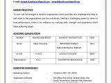 Latest Resume format Word File Resume format Word Dandilyonfluff Com