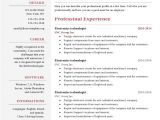 Latest Resume Word format Download One Page Resume Template Free Download Resume One Page