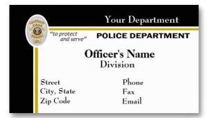 Law Enforcement Business Cards Templates 16 Best Images About Law Enforcement Business Cards On
