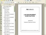 Law Enforcement Operations Plan Template Fm 3 19 13 Law Enforcement Investigations