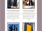 Law Firm Newsletter Templates 5 Free Email Templates for Lawyers Law Firms 2018 Mailget