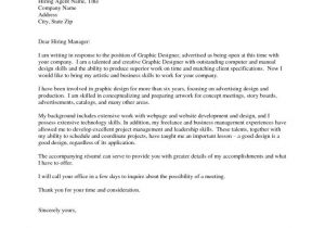 Layout Of Cover Letter for Job Application Graphic Design Cover Letter Sample Resume Badak